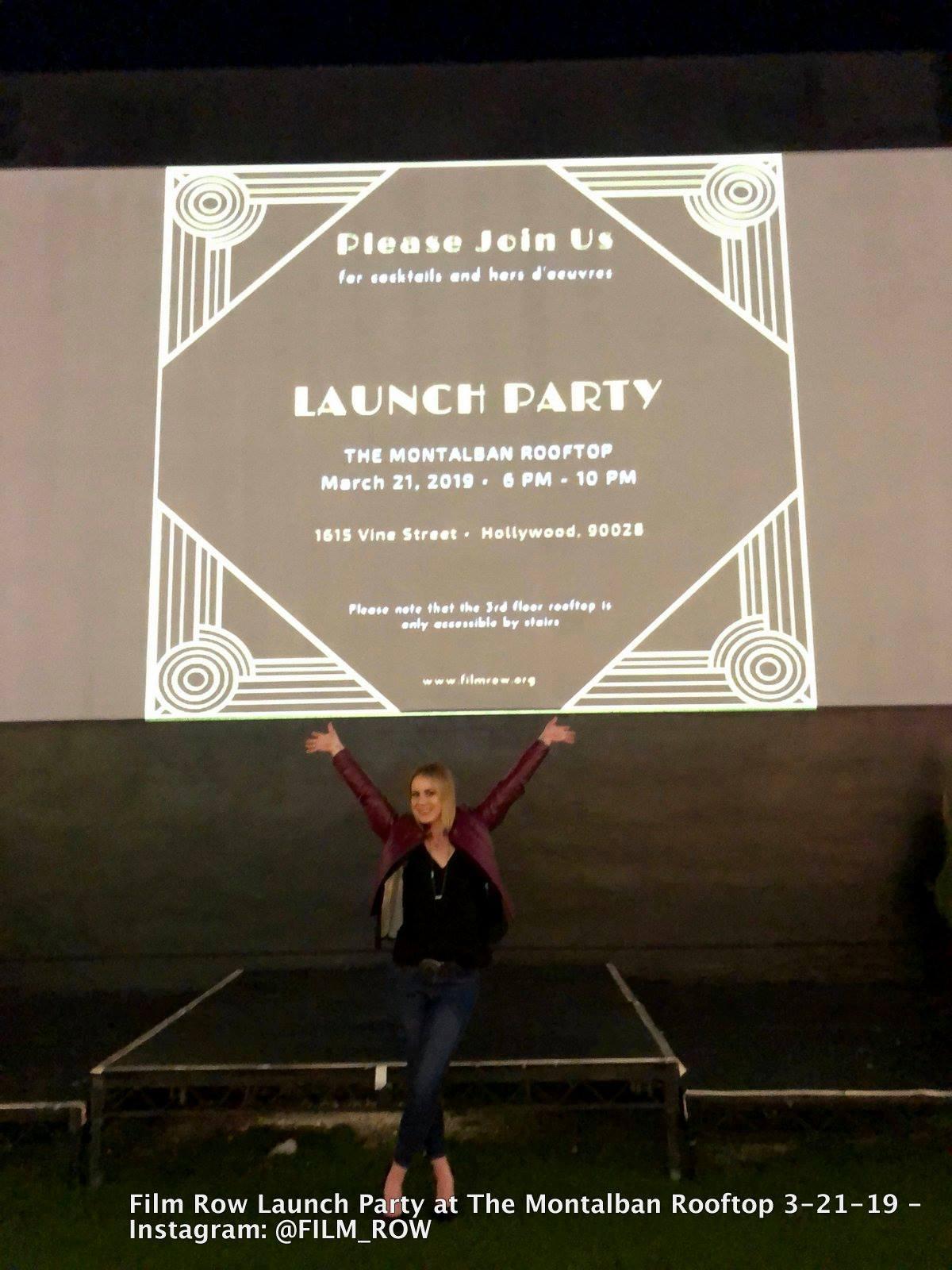 Film Row Launch Party. Photo: Debi Dodge